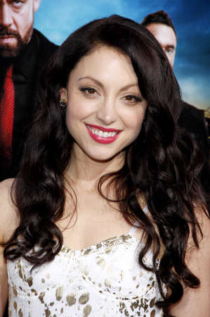 leah: Leah Gibson at the Los Angeles premiere of Rogue held at the ArcLight Theater in Los Angeles, USA on March 26, 2013. Editorial