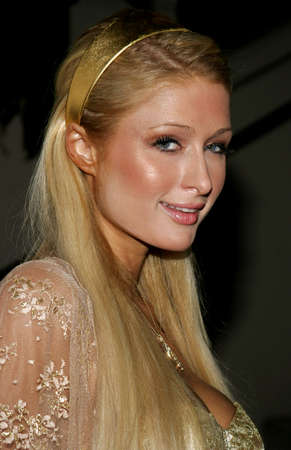 honoring: Paris Hilton at the Rodeo Drive Walk Of Style Award honoring Gianni and Donatella Versace held at the Beverly Hills City Hall in Beverly Hills, USA on February 8, 2007.