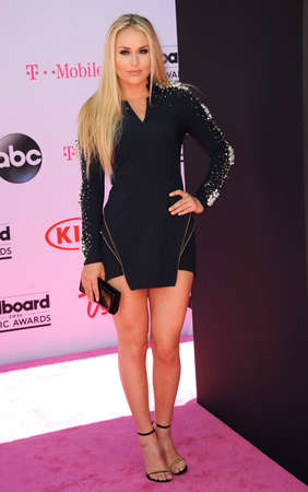 lindsay: Lindsay Vonn at the 2016 Billboard Music Awards held at T-Mobile Arena in Las Vegas, USA on May 22, 2016.