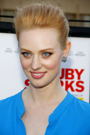woll: Deborah Ann Woll at the Los Angeles premiere of Ruby Sparks held at the Egyptian Theatre in Hollywood, USA on July 19, 2012.
