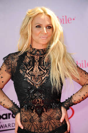 Britney Spears at the 2016 Billboard Music Awards held at T-Mobile Arena in Las Vegas, USA on May 22, 2016. 報道画像