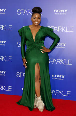 evans: Brely Evans at the Los Angeles premiere of Sparkle held at the Graumans Chinese Theater in Hollywood on August 16, 2012.