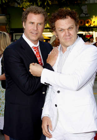 mann: Will Ferrell and John C. Reilly at the Los Angeles premiere of Step Brothers held at the Mann Village Theater in Westwood on July 15, 2008.