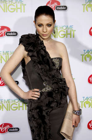 tonight: Michelle Trachtenberg at the Los Angeles premiere of Take Me Home Tonight held at the Regal LA Live Stadium 14 in Los Angeles on March 2, 2011.