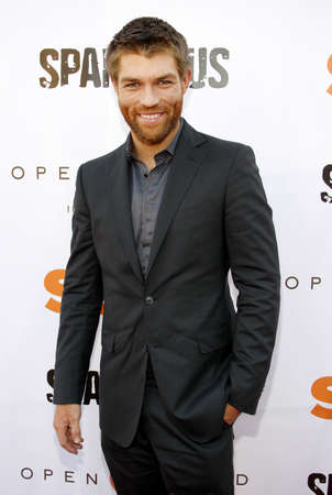 leonard: LOS ANGELES, CA - MAY 31, 2012:  Liam McIntyre at the Starz Celebrates the Original Spartacus held at the Leonard Goldenson Theatre in Los Angeles, USA on May 31, 2012.