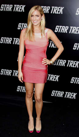 Kristin Cavallari at the Los Angeles premiere of Star Trek held at the Graumans Chinese Theater in Hollywood on April 30, 2009.