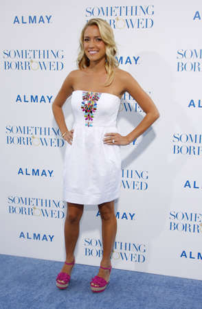 borrowed: Kristin Cavallari at the Los Angeles premiere of Something Borrowed held at the Graumans Chinese Theater in Hollywood on May 3, 2011.