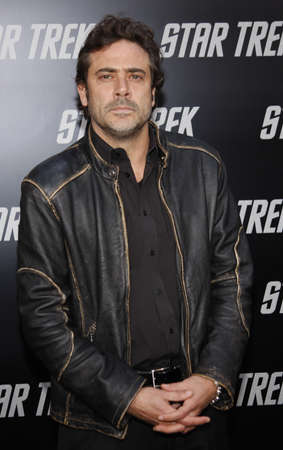 jeffrey: Jeffrey Dean Morgan at the Los Angeles premiere of Star Trek held at the Graumans Chinese Theater in Hollywood on April 30, 2009.