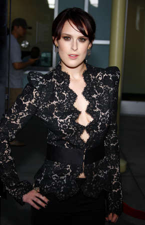 sorority: Rumer Willis at the Los Angeles premiere of Sorority Row held at the ArcLight Cinemas in Hollywood on September 3, 2009.