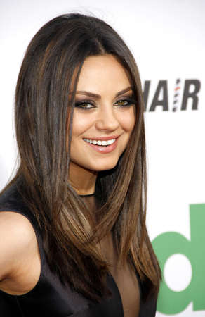 ted: Mila Kunis at the Los Angeles premiere of Ted held at the Graumans Chinese Theater in Hollywood on June 21, 2012.