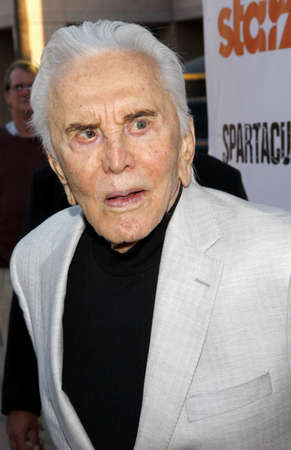leonard: LOS ANGELES, CA - MAY 31, 2012:  Kirk Douglas at the Starz Celebrates the Original Spartacus held at the Leonard Goldenson Theatre in Los Angeles, USA on May 31, 2012.