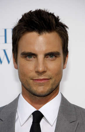 borrowed: Colin Egglesfield at the Los Angeles premiere of Something Borrowed held at the Graumans Chinese Theater in Hollywood on May 3, 2011.
