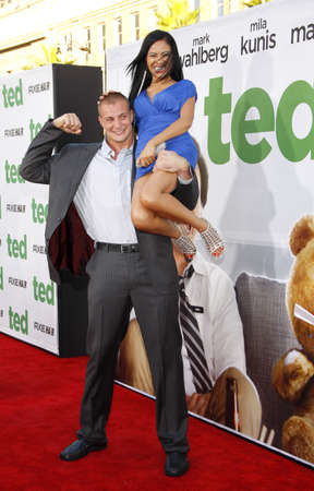 rob: Rob Gronkowski at the Los Angeles premiere of Ted held at the Graumans Chinese Theater in Hollywood on June 21, 2012