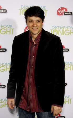 tonight: Ralph Macchio at the Los Angeles premiere of Take Me Home Tonight held at the Regal LA Live Stadium 14 in Los Angeles on March 2, 2011. Editorial