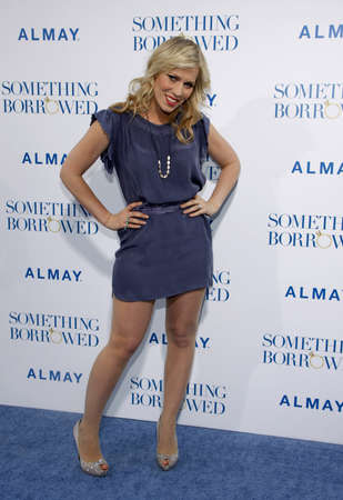 borrowed: Natasha Bedingfield at the Los Angeles premiere of Something Borrowed held at the Graumans Chinese Theater in Hollywood on May 3, 2011.