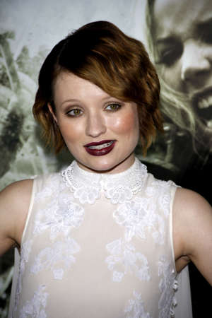 sucker: Emily Browning at the Los Angeles premiere of Sucker Punch held at the Graumans Chinese Theater in Hollywood on March 23, 2011.