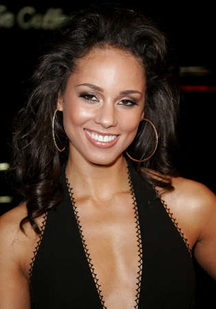 Alicia Keys at the World premiere of Smokin Aces held at the Graumans Chinese Theater in Hollywood, USA on January 18, 2007.