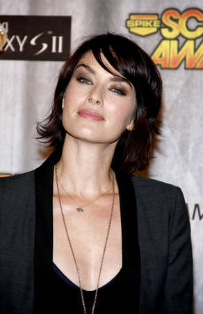 lena: Lena Headey at the Spike TVs Scream Awards 2011 held at the Universal Sudios Backlot in Universal City on October 15, 2011. Editorial