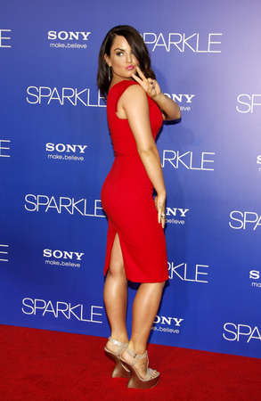 premiere: JoJo at the Los Angeles premiere of Sparkle held at the Graumans Chinese Theater in Hollywood on August 16, 2012. Editorial