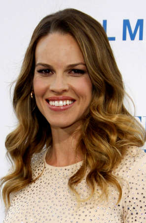 borrowed: Hilary Swank at the Los Angeles premiere of Something Borrowed held at the Graumans Chinese Theater in Hollywood on May 3, 2011. Editorial