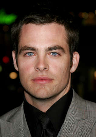 Chris Pine at the World premiere of Smokin Aces held at the Graumans Chinese Theater in Hollywood, USA on January 18, 2007. Editorial