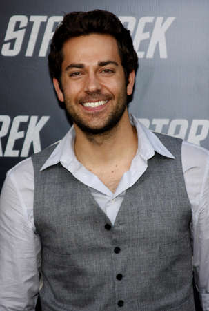 levi: Zachary Levi at the Los Angeles premiere of Star Trek held at the Graumans Chinese Theater in Hollywood, USA on April 30, 2009. Editorial
