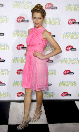 tonight: Teresa Palmer at the Los Angeles premiere of Take Me Home Tonight held at the Regal LA Live Stadium 14 in Los Angeles, USA on March 2, 2011.