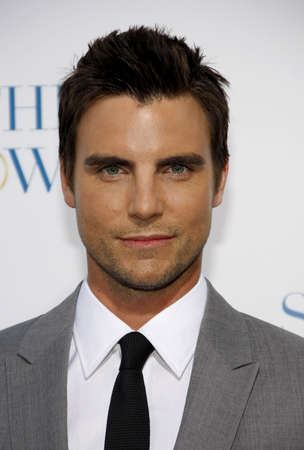 premiere: Colin Egglesfield at the Los Angeles premiere of Something Borrowed held at the Graumans Chinese Theater in Hollywood on May 3, 2011.