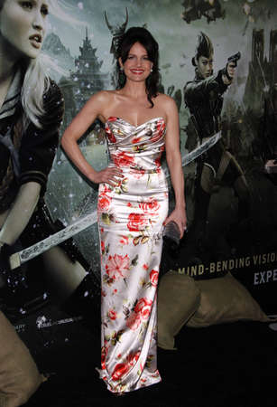 sucker: Carla Gugino at the Los Angeles premiere of Sucker Punch held at the Graumans Chinese Theater in Hollywood on March 23, 2011.