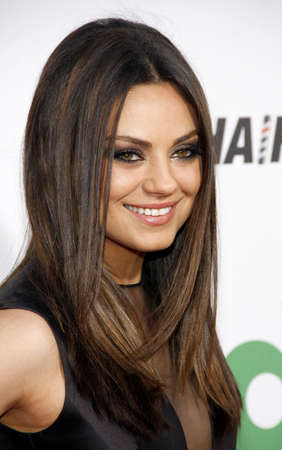 ted: Mila Kunis at the Los Angeles premiere of Ted held at the Graumans Chinese Theatre in Hollywood on June 21, 2012.