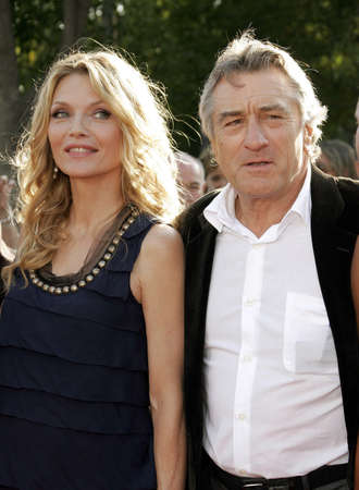 premiere: Michelle Pfeiffer and Robert De Niro at the Los Angeles premiere of Stardust held at the Paramount Pictures Studios in Hollywood, USA on July 29, 2007.