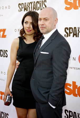 Steven S DeKnight at the Starz Celebrates the Original Spartacus held at the Leonard Goldenson Theatre in Los Angeles, USA on May 31, 2012.