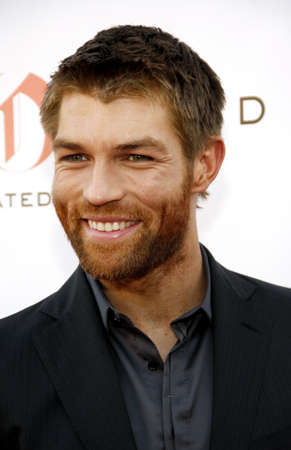 leonard: Liam McIntyre at the Starz Celebrates the Original Spartacus held at the Leonard Goldenson Theatre in Los Angeles, USA on May 31, 2012. Editorial