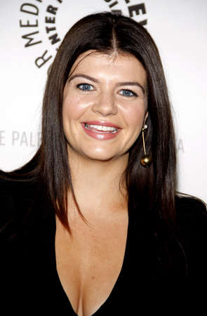 endings: Casey Wilson at the Paley Center For Media Presents An Evening With Happy Endings held at the Paley Center for Media in Beverly Hills on August 29, 2011.