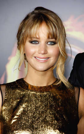 jennifer: Jennifer Lawrence at the Los Angeles premiere of The Hunger Games held at the Nokia Theatre L.A. Live in Los Angeles on March 12, 2012.