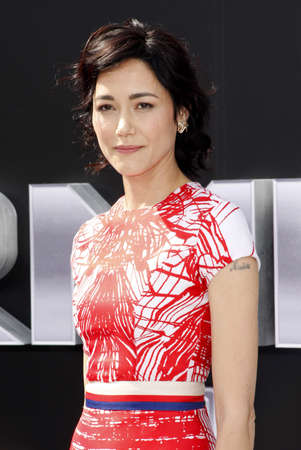 terminator: Sandrine Holt at the Los Angeles premiere of Terminator Genisys held at the Dolby Theatre in Hollywood, USA on June 28, 2015.