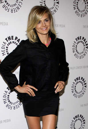 endings: Eliza Coupe at the Paley Center For Media Presents An Evening With Happy Endings held at the Paley Center for Media in Beverly Hills on August 29, 2011.