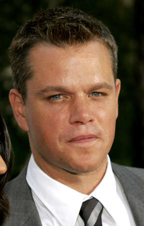 ultimatum: Matt Damon at the Los Angeles premiere of The Bourne Ultimatum held at the ArcLight Cinemas in Hollywood, USA on July 25, 2007.