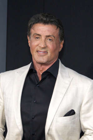 sylvester: Sylvester Stallone at the Los Angeles premiere of The Expendables 3 held at the TCL Chinese Theatre in Los Angeles, USA on August 11, 2014. Editorial