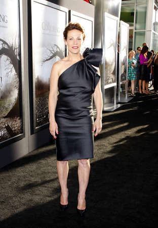 conjuring: Lili Taylor at the Los Angeles premiere of The Conjuring held at the Cinerama Dome in Hollywood, USA on July 15, 2013.