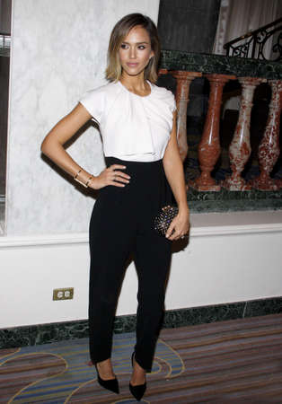 Jessica Alba at the Independent School Alliance For Minority Affairs Impact Awards Dinner held at the Four Seasons Hotel in Beverly Hills, USA on March 17, 2015.