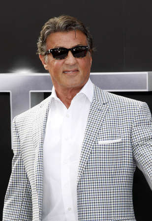sylvester: Sylvester Stallone at the Los Angeles premiere of 'Terminator Genisys' held at the Dolby Theatre in Hollywood, USA on June 28, 2015.