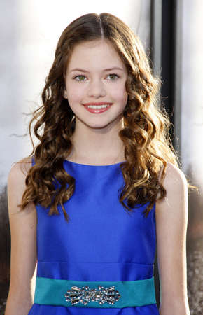 mackenzie: Mackenzie Foy at the Los Angeles premiere of The Conjuring held at the Cinerama Dome in Hollywood, USA on July 15, 2013.