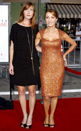 heartbreak: Jane Seymour and daughter Katie Flynn at the Los Angeles premiere of The Heartbreak Kid held at the Mann Village Theater in Westwood, USA on September 27, 2007. Editorial