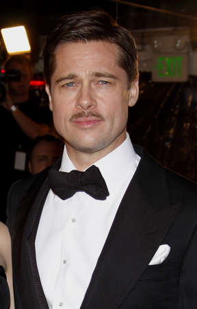 brad pitt: Brad Pitt at the Los Angeles premiere of The Curious Case Of Benjamin Button held at the Manns Village Theater  in Westwood on December 8, 2008.
