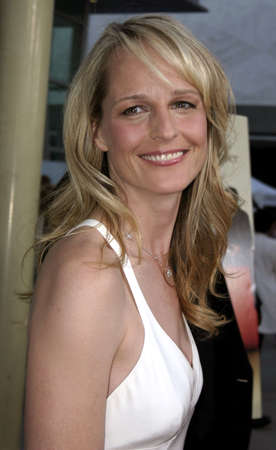 Helen Hunt at the Los Angeles premiere of The Thing About My Folks held at the Arclight in Hollywood, USA on September 7, 2005.