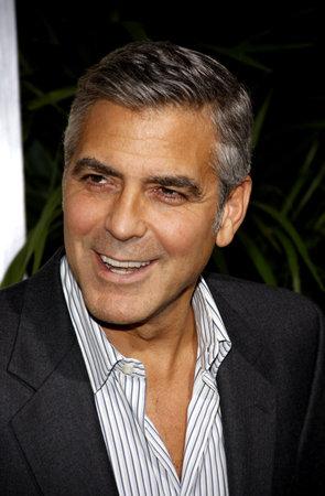 ロサンゼルスでのジョージ ・ クルーニーは、2011 年 11 月 15 日にビバリーヒルズのアカデミーのサミュエルゴールドウィン劇場で開催された ' の