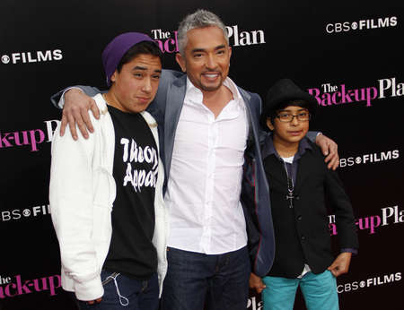 millan: Cesar Millan at the Los Angeles premiere of The Back-Up Plan held at the Regency Village Theatre in Westwood on April 21, 2010. Editorial