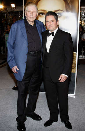 redstone: Brad Grey and Sumner Redstone at the Los Angeles premiere of The Curious Case Of Benjamin Button held at the Manns Village Theater  in Westwood on December 8, 2008.