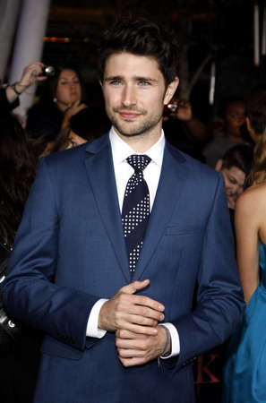 amanecer: Matt Dallas en la premier de Los �ngeles de 'La Saga Crep�sculo: Amanecer Parte 1' celebrada en el Nokia Theatre LA Live en Los Angeles el 14 de noviembre de 2011.